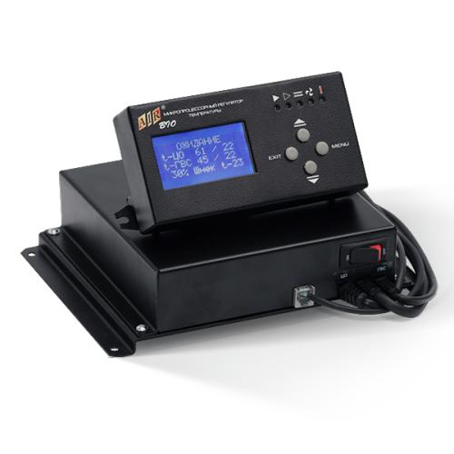 AIR BIO — блок управления пеллетной горелкой ретортного типа