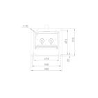 Заказать Пеллетная горелка AIR Pellet Ceramic 500 кВт ➢ опт и розница ✔