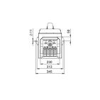Пеллетная горелка AIR Pellet Ceramic 60 кВт