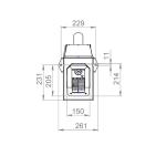 Заказать Пеллетная горелка AIR Pellet Ceramic 40 кВт ➢ опт и розница ✔