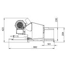 Заказать Пеллетная горелка AIR Pellet Ceramic 60 кВт ➢ опт и розница ✔