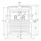 Заказать Пеллетная горелка AIR Pellet Ceramic 1000 кВт ➢ опт и розница ✔